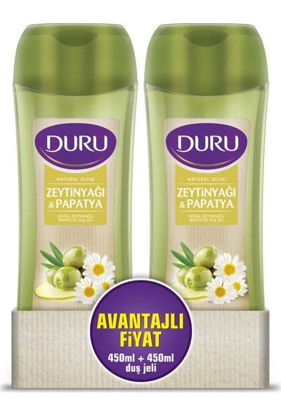 Duru Natural Olive Zeytinyağı & Papatya Duş Jeli 450 ml & 450 ml