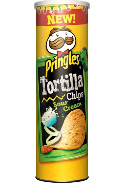 Pringles Tortilla Ekşi Krema Çeşnili 160 gr