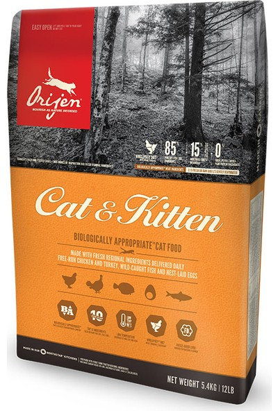 Orıjen Mama Kedi Cat&Kıtten 17kg