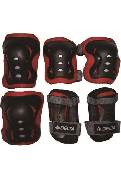 Delta Ronin Siyah-Kırmızı Koruyucu Set