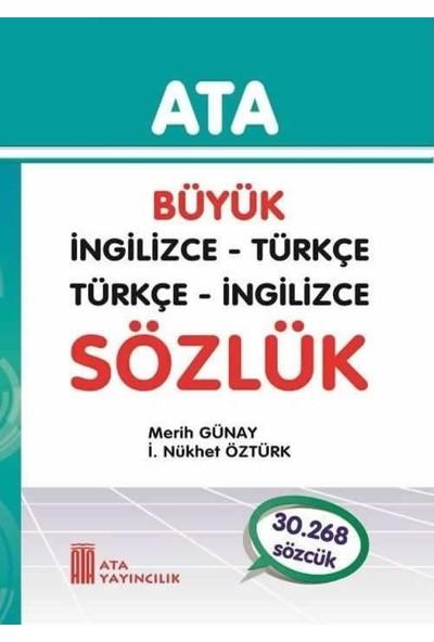 Ata Yayıncılık Büyük İngilizce - Türkçe, Türkçe - İngilizce Sözlük (Sert Kapak)