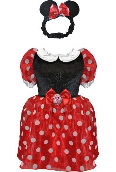 Minnie Mouse Kostüm 7-9 Yaş
