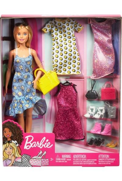 Barbienin Kıyafet Kombinleri Oyun Seti