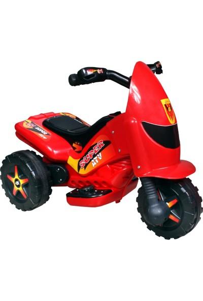 UJ Toys 6V Akülü Motor - Kırmızı
