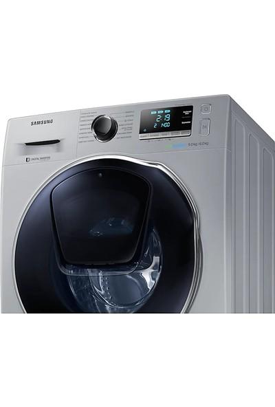 Samsung WD90K6B10OS/AH A 9 kg Yıkama / 6 kg Kurutma 1400 Devir Çamaşır Makinesi