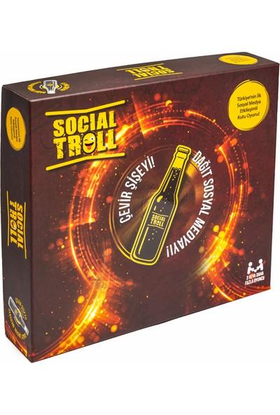 Social Troll Sosyal Medya Etkileşimli Şişe Çevirmece Kutu Oyunu