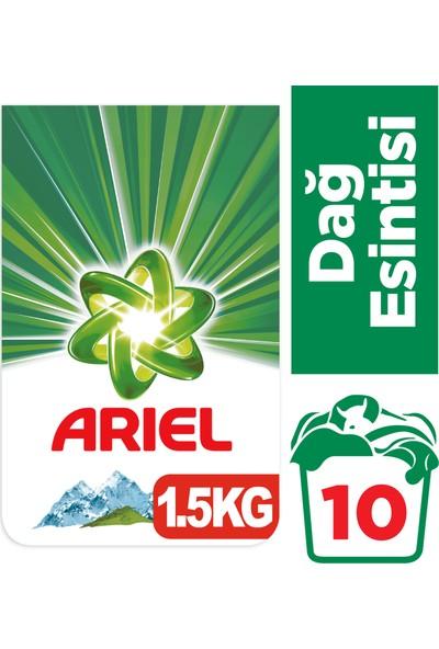 Ariel 1,5 kg Toz Çamaşır Deterjanı Dağ Esintisi Beyazlar İçin