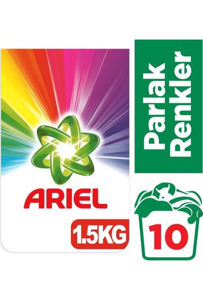 Ariel 1,5 kg Toz Çamaşır Deterjanı Parlak Renkler