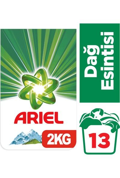 Ariel 2 kg Toz Çamaşır Deterjanı Dağ Esintisi Beyazlar İçin
