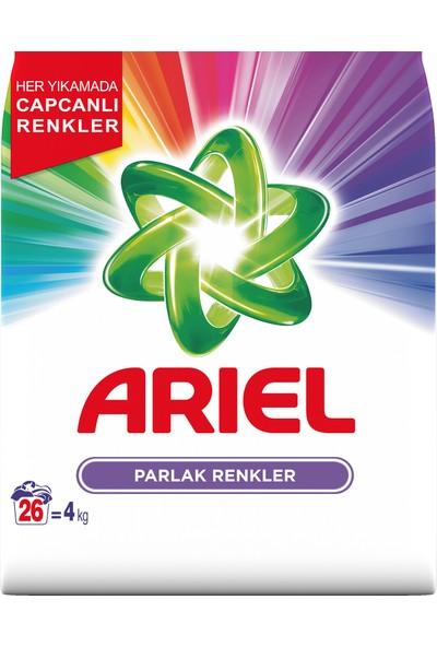 Ariel 4 kg Toz Çamaşır Deterjanı Parlak Renkler