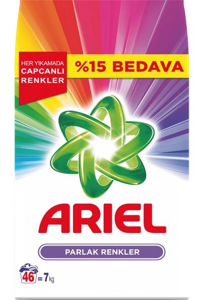 Ariel 7 kg Toz Çamaşır Deterjanı Parlak Renkler