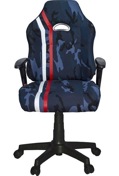Üreten Burada M3 Yönetici Ve Oyuncu Koltuğu Kamuflaj Mavi