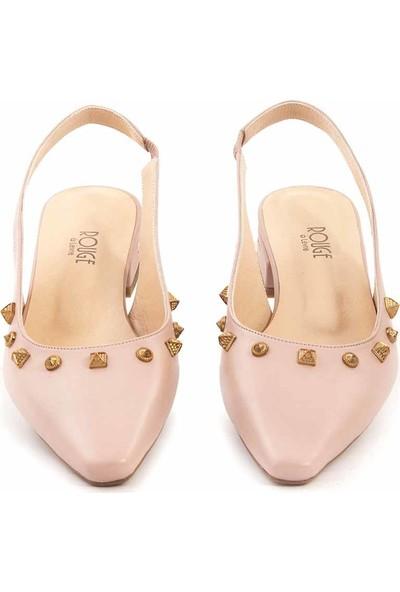 Rouge Deri Kadın Sandalet H101