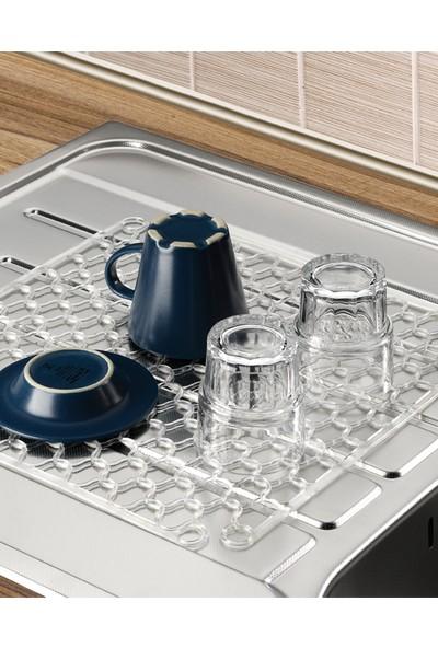 Mi̇ni̇k Home Simple Lavabo Ve Buzluk Halısı