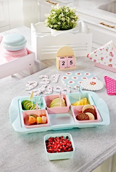 Mi̇ni̇k Home Star 6'lı Kahvaltılık Set