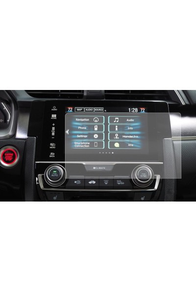 Aeltech Honda Civic EX - EX-T - EX-L Navigasyon Ekran Koruyucu Film