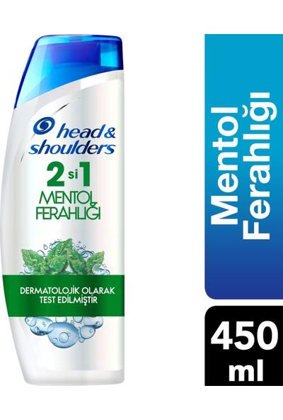 Head & Shoulders Mentol Ferahlığı 450 ml 2'si 1 Arada Şampuan
