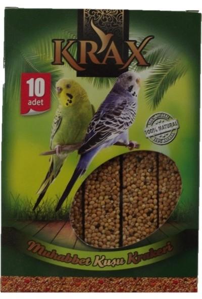 Krax Ballı Muhabbet Kuşu Krakeri