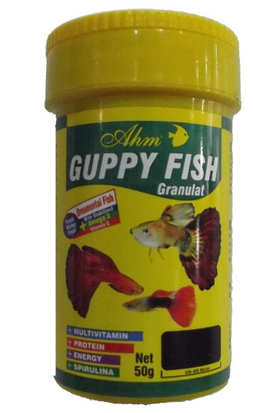 Ahm Guppy Fish Lepistes Yemi 100 ml
