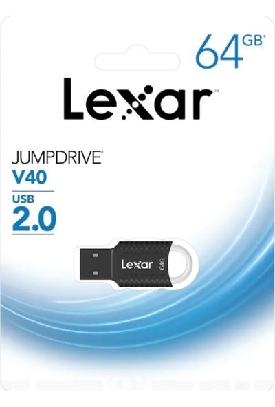 Lexar Jumpdrive V40 64 GB USB 2.0 Flash Bellek