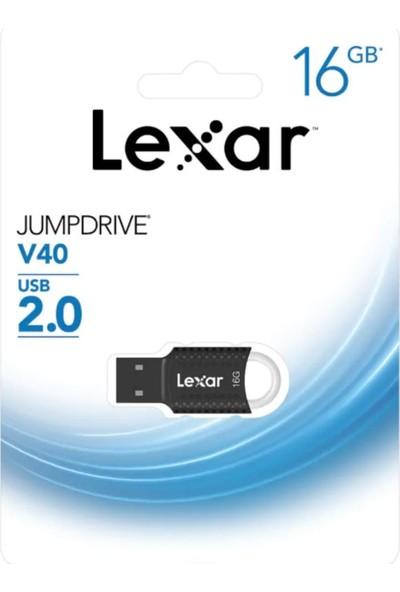 Lexar Jumpdrive V40 16 GB USB 2.0 Flash Bellek