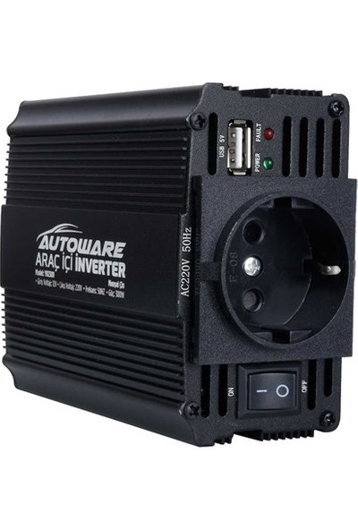 Autoware Çevirici Araç İçi İnverter 12V-220V
