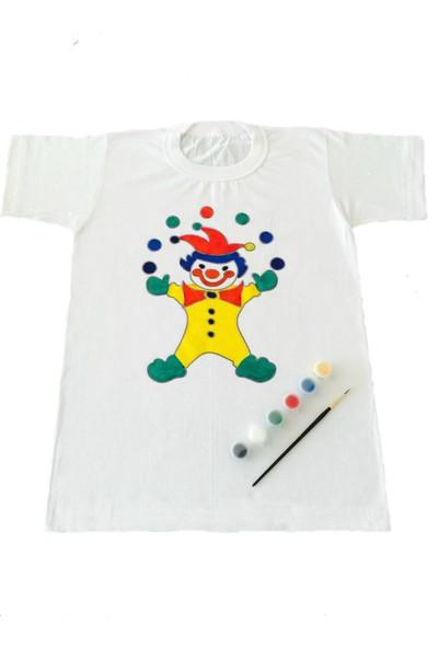 Joy Toys Palyaço Desenli Tişört Boyama Seti 10 - 11 Yaş