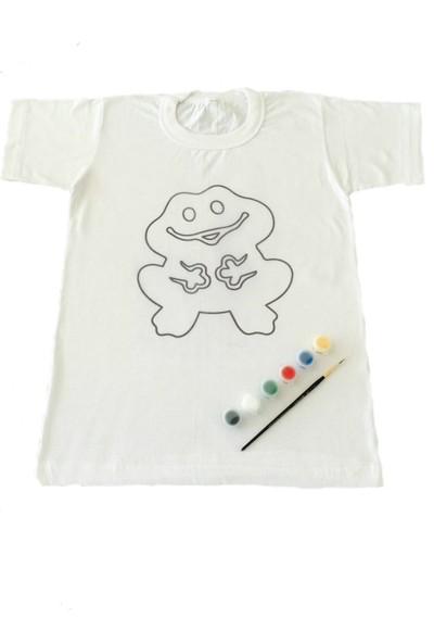 Joy Toys Kurbağa Desenli Tişört Boyama Seti 10 - 11 Yaş