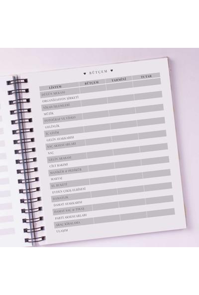 JUNO PAPER Düğün Ajandası & Evlilik Günlüğü / Planlayıcı