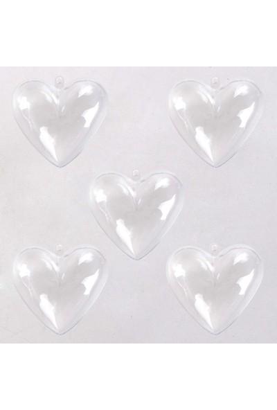 Euro Flora Askılı Kalp Kutu 5'li Paket 6,5 x 4 x 6 cm