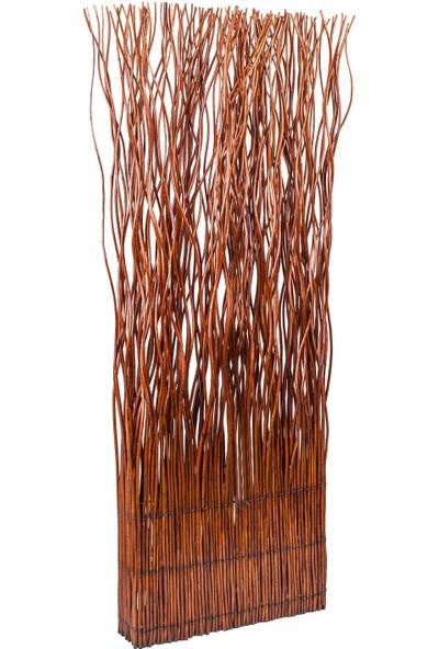 Euro Flora Natürel Dal Seperatör Dekor 58 x 13 x 156 cm