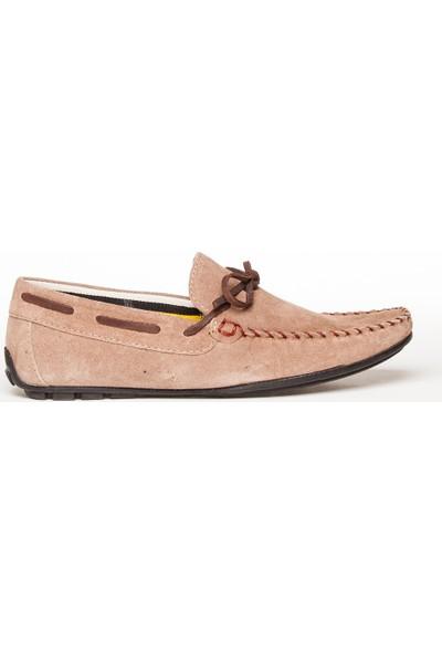 Machossen 42311 Hakiki Deri Kum Süet Günlük Roc Erkek Ayakkabı
