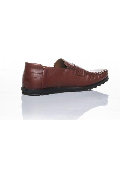 Bemsa 0507 Hakiki Deri Ortapedik Taba Günlük Erkek Ayakkabı