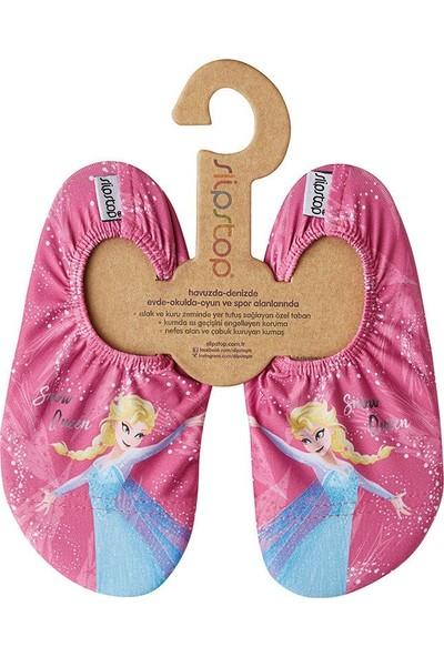 Slipstop Disney Snow Queen Kız Çocuk Kaydırmaz Ayakkabı/Patik