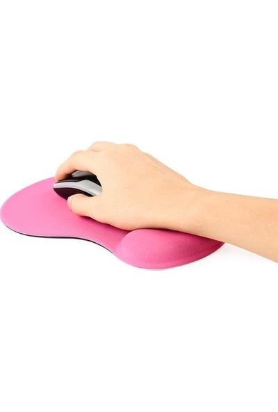 Appa Jel Bileklikli Mouse Pad - Pembe