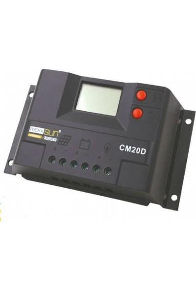 Mexxsun 10 Amper Dijital Sarj Kontrol Cihazı