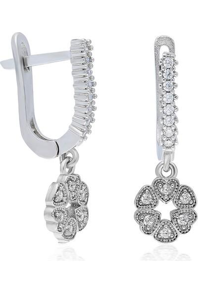 İpek Silver IKU161 925 Ayar Gümüş Küpe