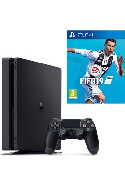 Sony Playstation 4 Slim 500 Gb Oyun Konsolu + Fifa 19