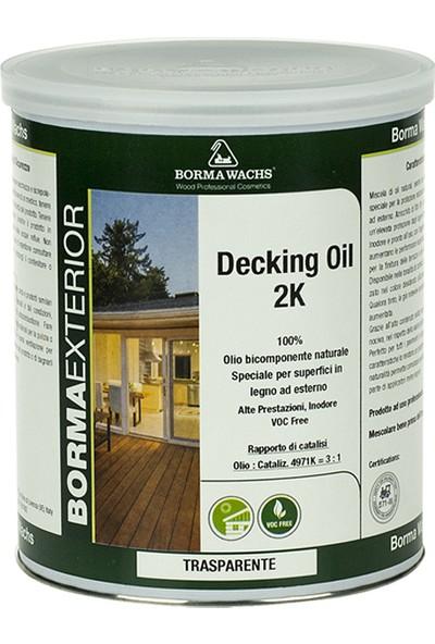Borma Wachs 2K Decking Oil 2K Deck Yağı