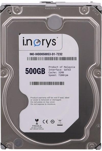 """İ.Norys 500GB 3.5"""" 5900RPM 8Mb Sata 2"""