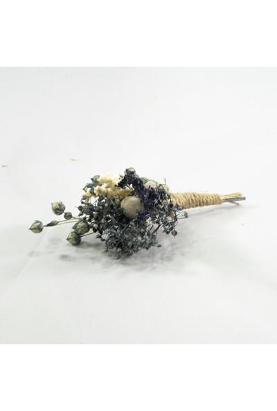 Eva Flore Mavi Kır Çiçek Buketi