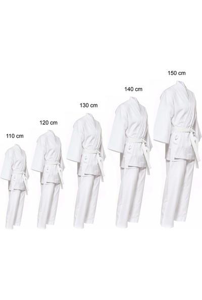 Liggo Çocuk Karete Elbisesi Nefes Alabilen Kumaş Karate Elbisesi