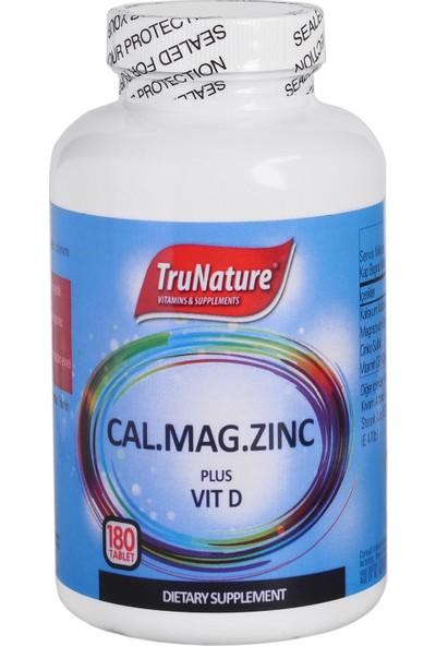 Trunature Calcium Magnesium Zinc 180 Tablet