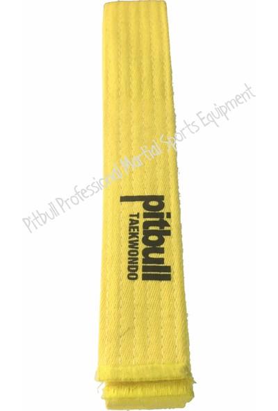 Pitbull Sarı Yeşil Taekwondo Kuşağı