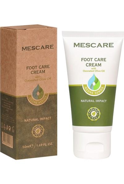 MESCARE - Ozonlu Doğal Ayak Bakım Kremi - 50 ml - PARABENSİZ