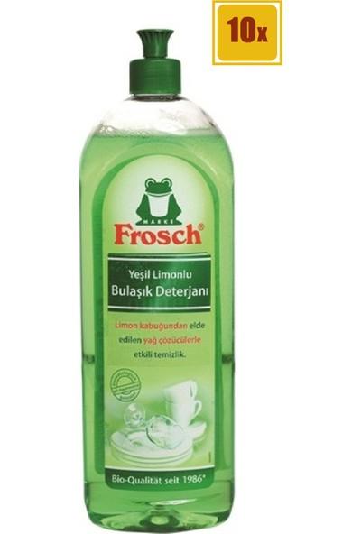 Frosch Bulaşık Deterjanı Yeşil Limonlu 750 ml (x10)
