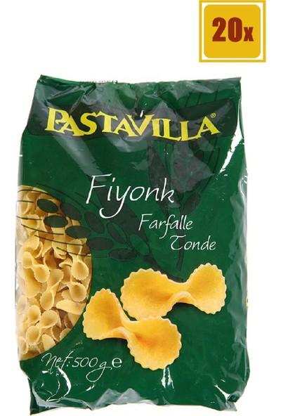 Pastavilla Fiyonk Makarna 500 gr 20'li Set