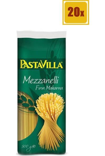 Pastavilla Mezzanelli Makarna 500 gr 20'li Set
