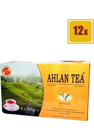 Ahlan Tea Pure Ceylon Bardak 25'li 12'li Set