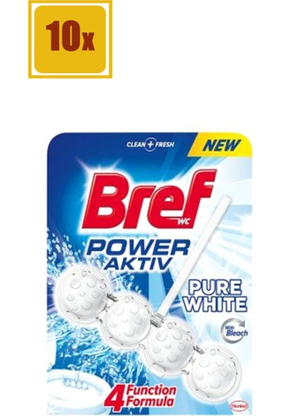 Bref Wc Power Aktiv White 50 gr
